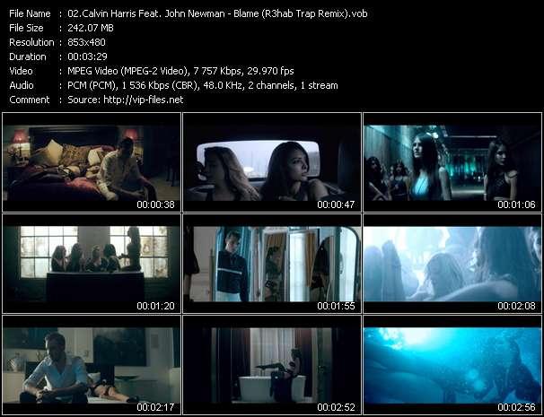 Calvin Harris Feat. John Newman - Blame (R3hab Trap Remix)