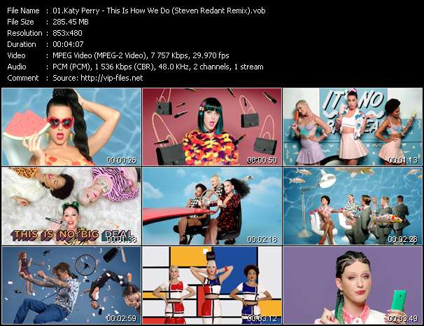 Katy Perry - This Is How We Do (Steven Redant Remix)