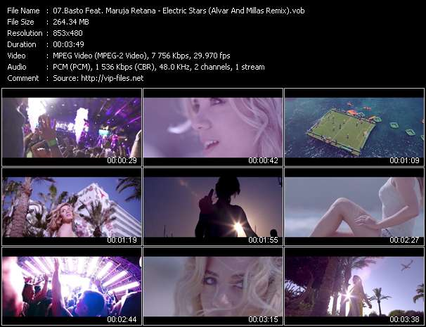 Basto Feat. Maruja Retana - Electric Stars (Alvar And Millas Remix)