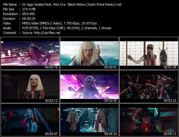 Iggy Azalea Feat. Rita Ora - Black Widow (Justin Prime Remix)