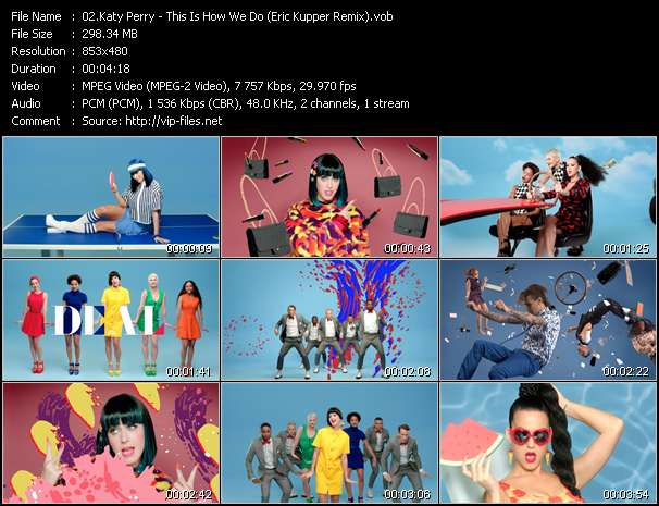 Katy Perry - This Is How We Do (Eric Kupper Remix)