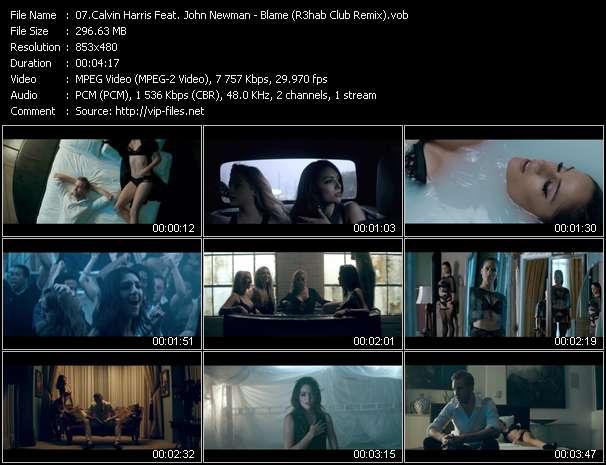 Calvin Harris Feat. John Newman - Blame (R3hab Club Remix)