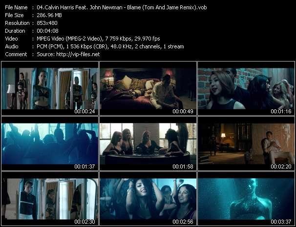 Calvin Harris Feat. John Newman - Blame (Tom And Jame Remix)