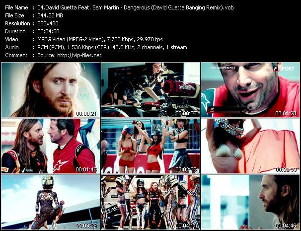 David Guetta Feat. Sam Martin - Dangerous (David Guetta Banging Remix)