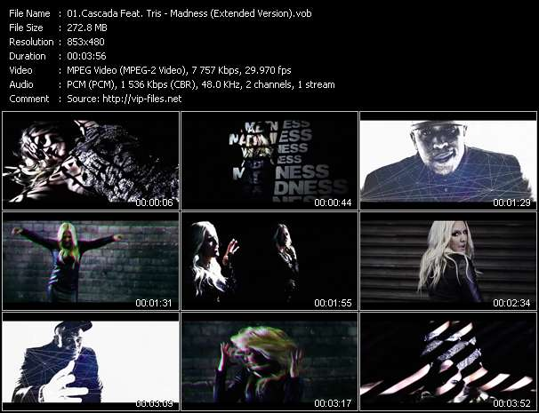 Cascada Feat. Tris - Madness (Extended Version)