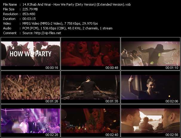 R3hab And Vinai - How We Party (Dirty Version) (Extended Version)