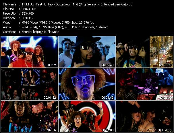 Lil' Jon Feat. Lmfao - Outta Your Mind (Dirty Version) (Extended Version)
