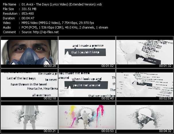 Avicii - The Days (Lyrics Video) (Extended Version)