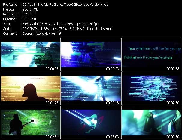 Avicii - The Nights (Lyrics Video) (Extended Version)