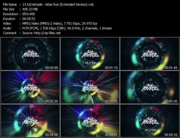 Kid Arkade - Atlas Run (Extended Version)