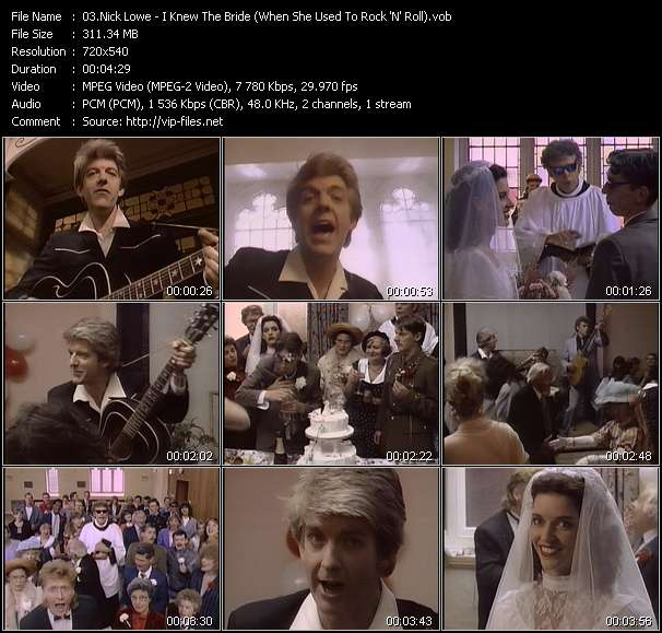 Nick Lowe - I Knew The Bride (When She Used To Rock 'N' Roll)