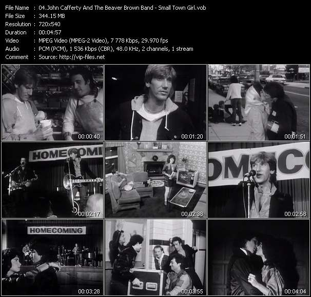 John Cafferty And The Beaver Brown Band - Small Town Girl