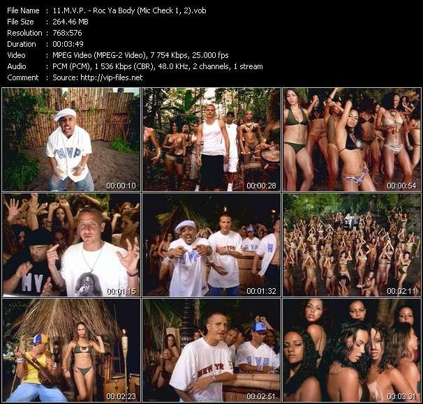 M.V.P. - Roc Ya Body (Mic Check 1, 2)