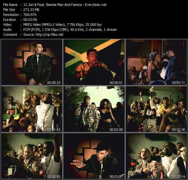 Jon B Feat. Beenie Man And Farena - Everytime