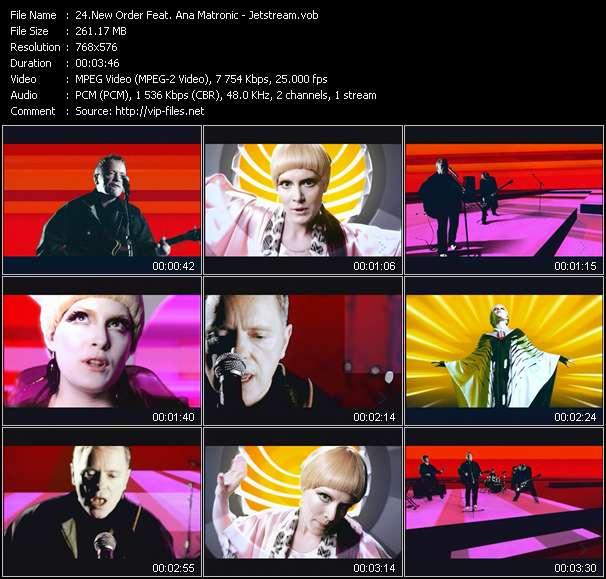 New Order Feat. Ana Matronic - Jetstream