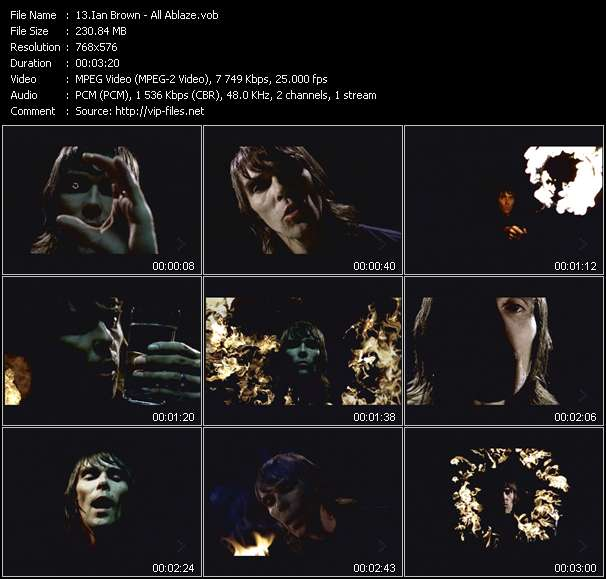 Ian Brown - All Ablaze