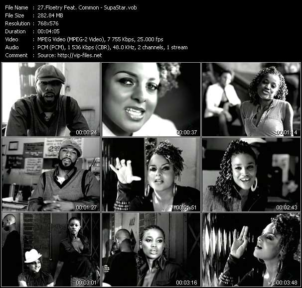 Floetry Feat. Common - SupaStar