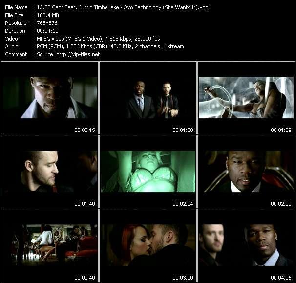 50 Cent Feat. Justin Timberlake - Ayo Technology (She Wants It)