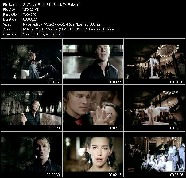 Tiesto Feat. BT - Break My Fall