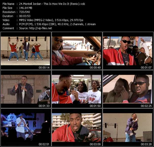 Montell Jordan - This Is How We Do It (Remix)