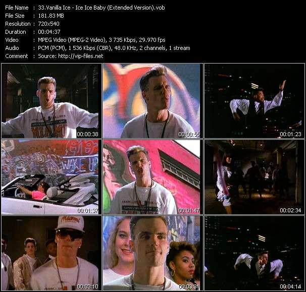 Vanilla Ice - Ice Ice Baby (Extended Version)