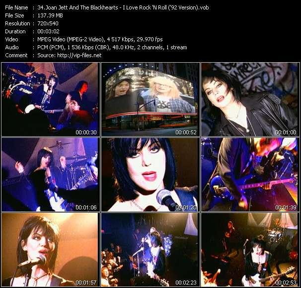Joan Jett And The Blackhearts - I Love Rock 'N Roll ('92 Version)