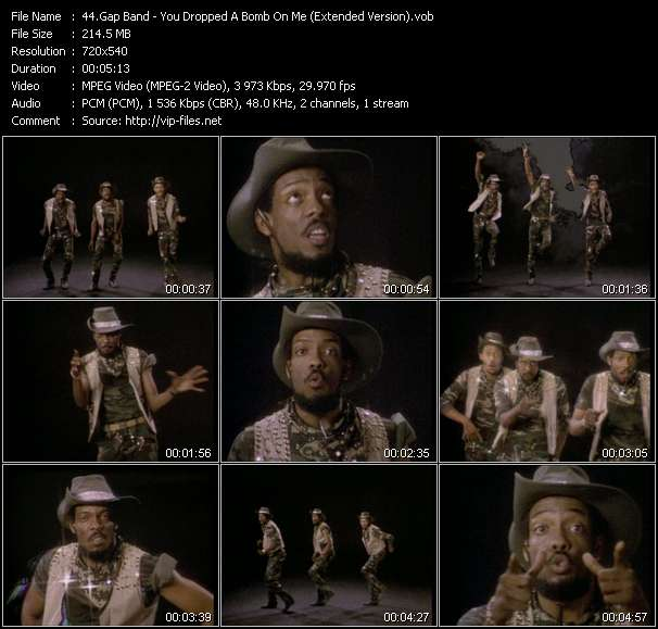 Gap Band - You Dropped A Bomb On Me (Extended Version)