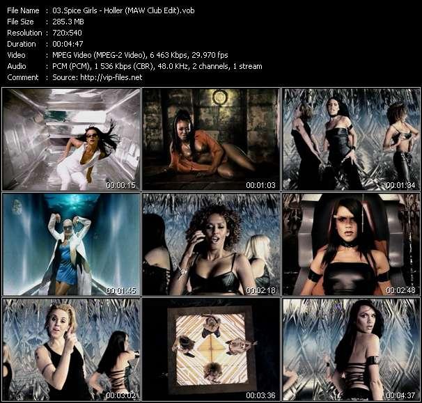 Spice Girls - Holler (MAW Club Edit)