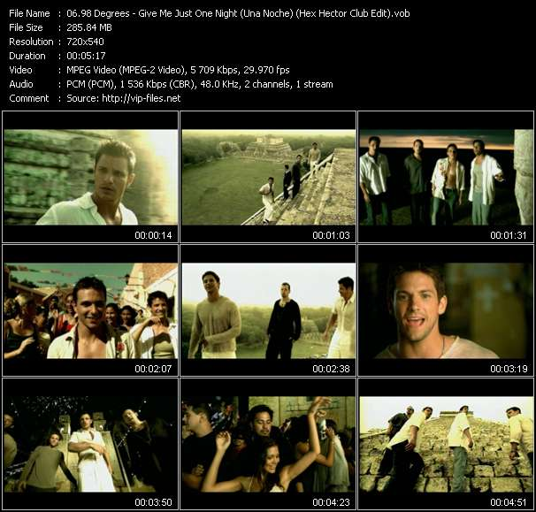 98 Degrees - Give Me Just One Night (Una Noche) (Hex Hector Club Edit)