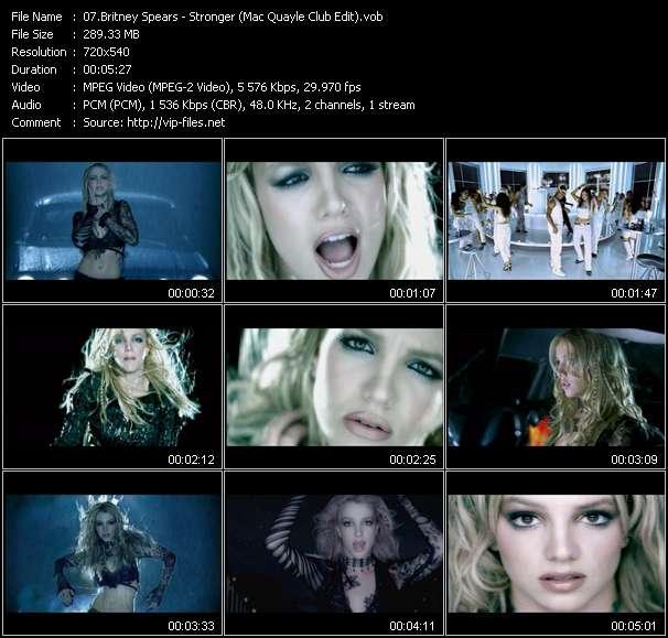 Britney Spears - Stronger (Mac Quayle Club Edit)