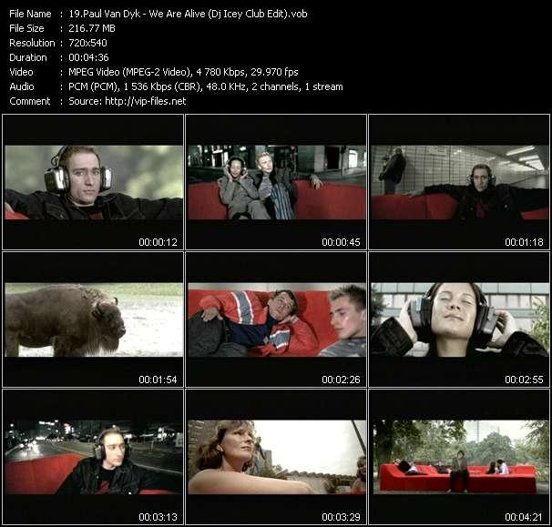 Paul Van Dyk - We Are Alive (Dj Icey Club Edit)
