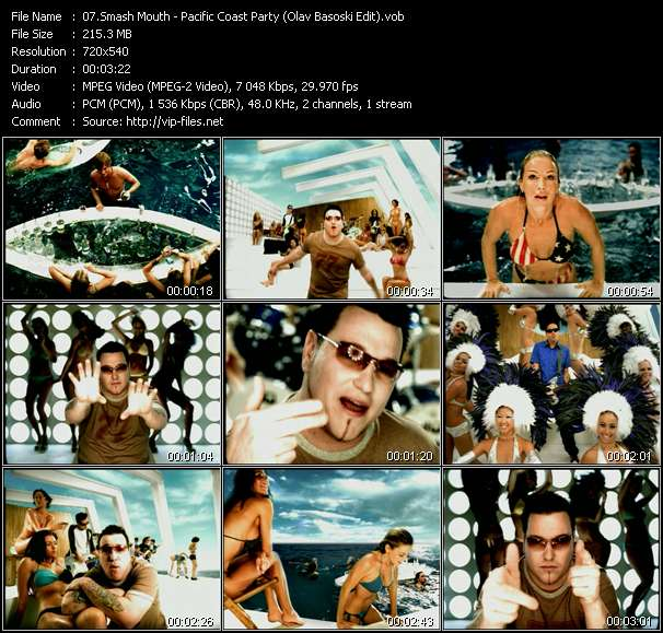 Smash Mouth - Pacific Coast Party (Olav Basoski Edit)