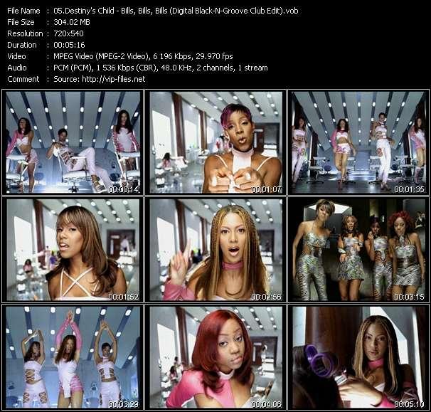 Destiny's Child - Bills, Bills, Bills (Digital Black-N-Groove Club Edit)