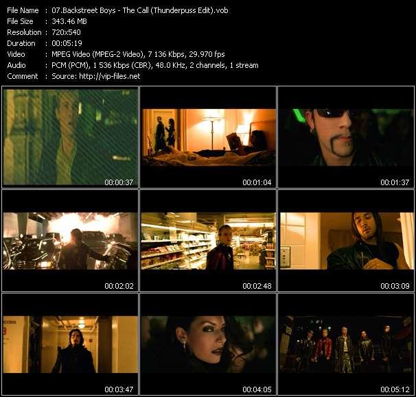 Backstreet Boys - The Call (Thunderpuss Edit)