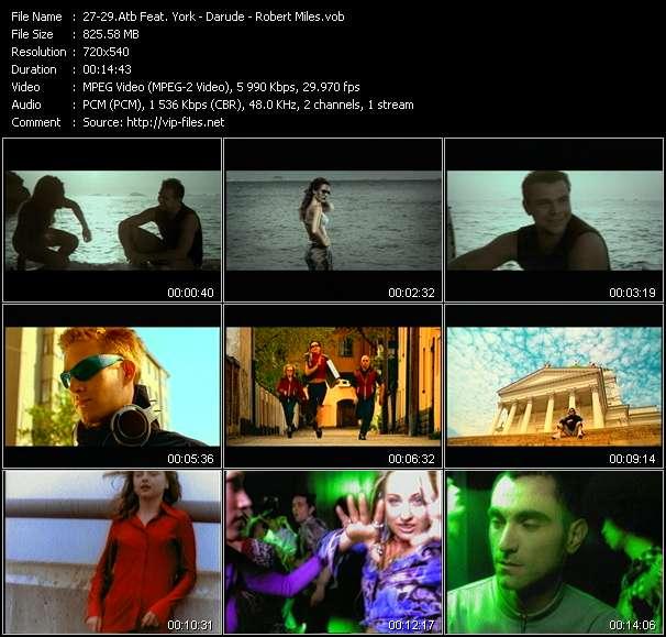 Atb Feat. York - Darude - Robert Miles - The Fields Of Love (York Remix) - Sandstorm (Original Edit) - Children (Dream Mix)