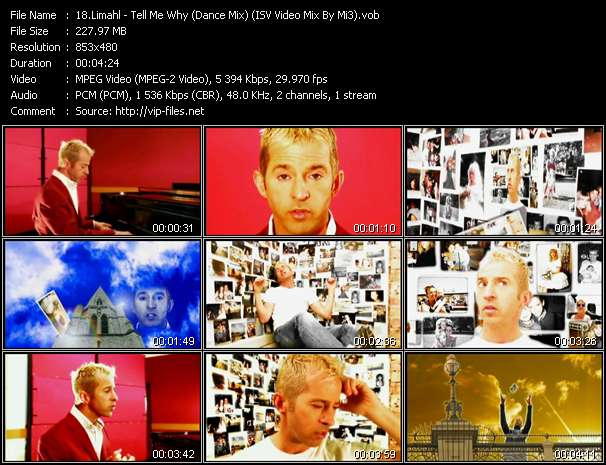 Limahl - Tell Me Why (Dance Mix) (ISV Video Mix By Mi3)