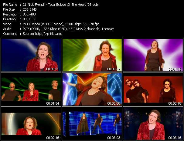 Nicki French - Total Eclipse Of The Heart '06