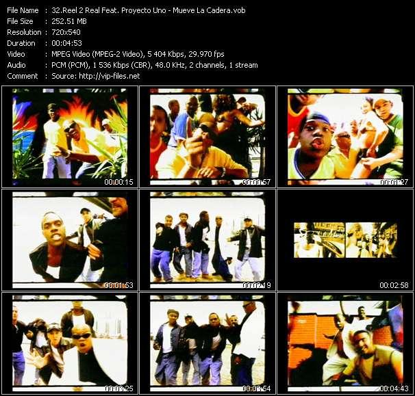 Reel 2 Real Feat. Proyecto Uno - Mueve La Cadera