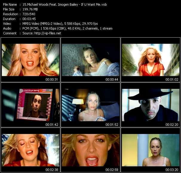 Michael Woods Feat. Imogen Bailey - If U Want Me