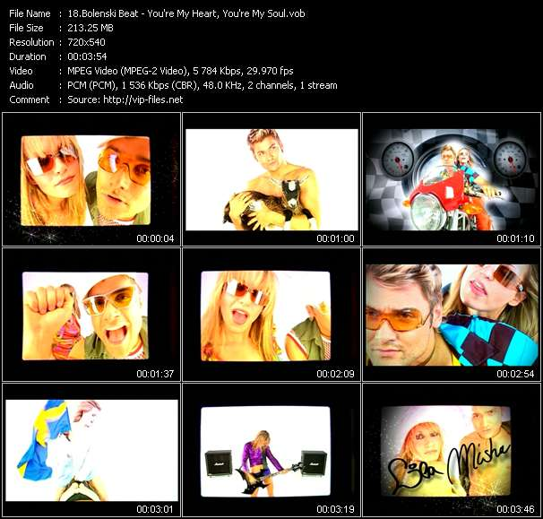 screenschot of Bolenski Beat video