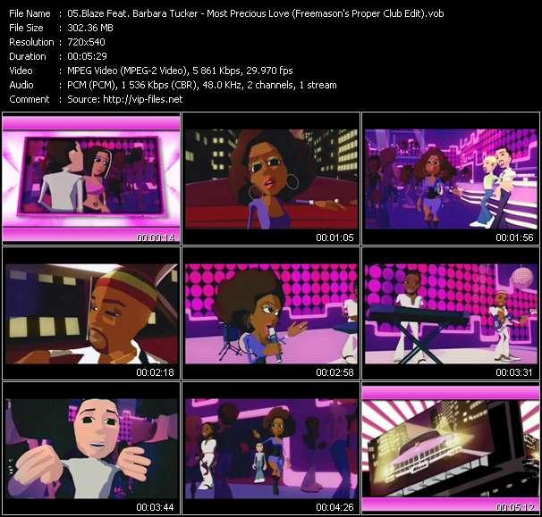 Blaze Feat. Barbara Tucker - Most Precious Love (Freemason's Proper Club Edit)