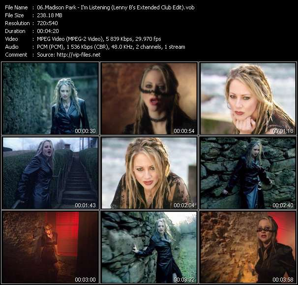 Madison Park - I'm Listening (Lenny B's Extended Club Edit) (Video Mix By Garry A. Cagle)