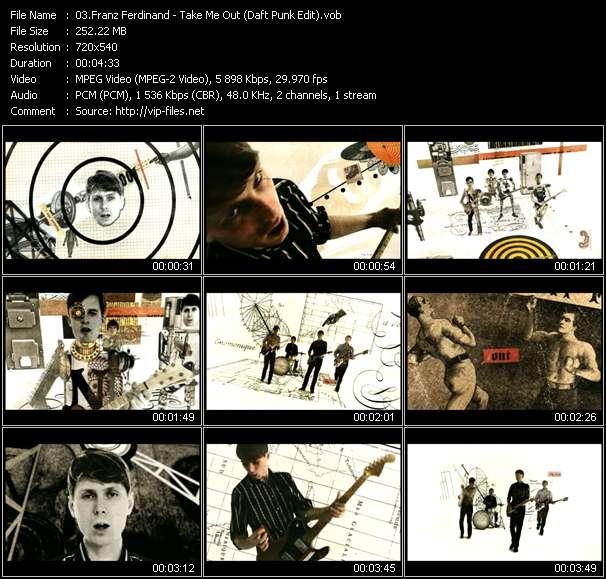 Franz Ferdinand - Take Me Out (Daft Punk Edit)