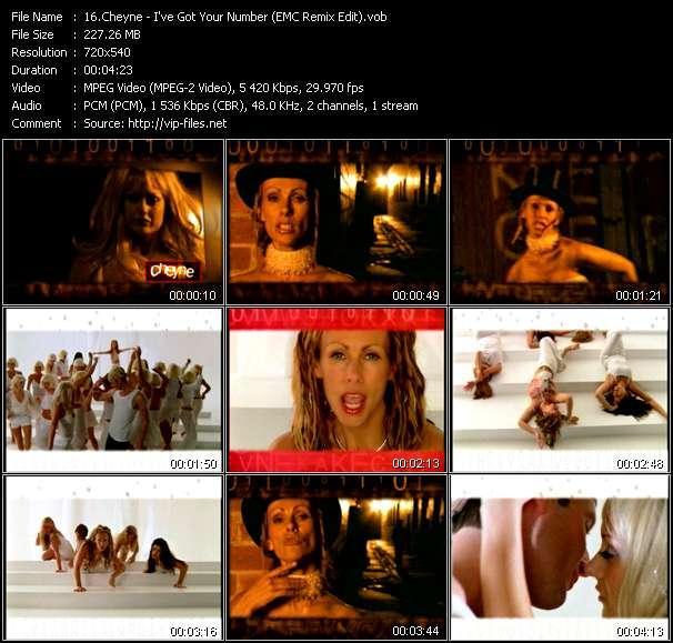 Cheyne - I've Got Your Number (EMC Remix Edit)