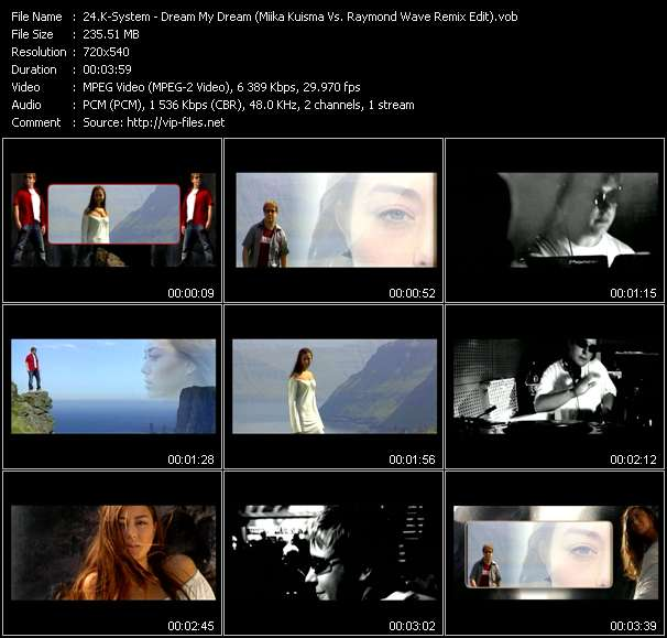 K-System - Dream My Dream (Miika Kuisma Vs. Raymond Wave Remix Edit)