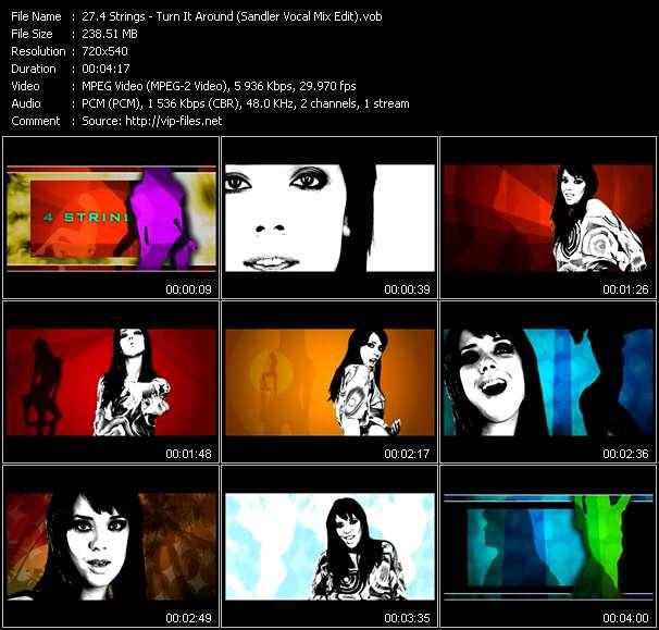 4 Strings - Turn It Around (Sandler Vocal Mix Edit)