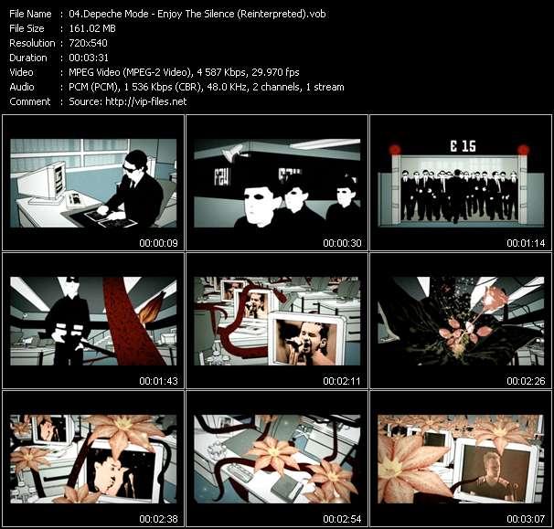Depeche Mode - Enjoy The Silence (Reinterpreted)