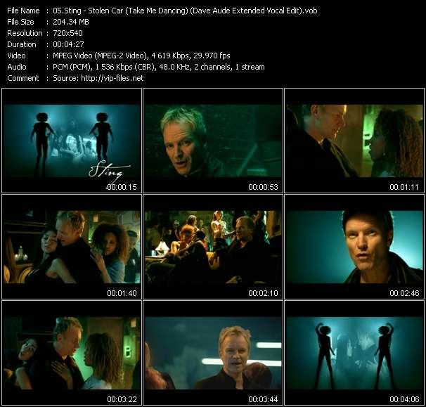 Sting - Stolen Car (Take Me Dancing) (Dave Aude Extended Vocal Edit)