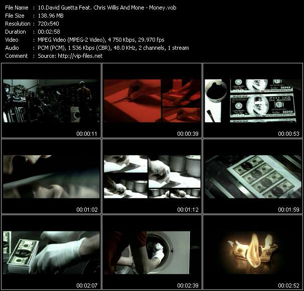 David Guetta Feat. Chris Willis And Mone - Money