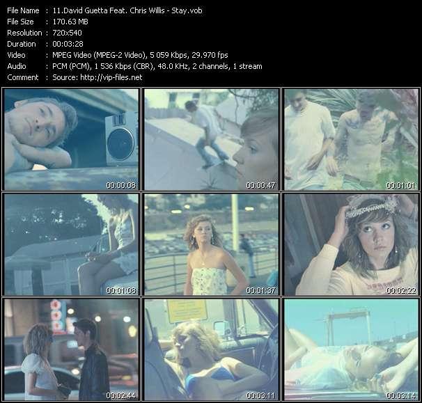 David Guetta Feat. Chris Willis - Stay